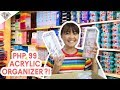 PHP 99 ACRYLIC MAKEUP ORGANIZER?! MGA GAMIT SA BAHAY HAUL ROBINSONS, LANDERS, ALL HOME, JAPAN HOME