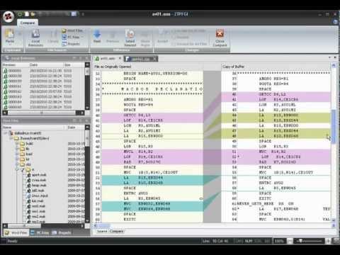 Integrated File Comparison Tool