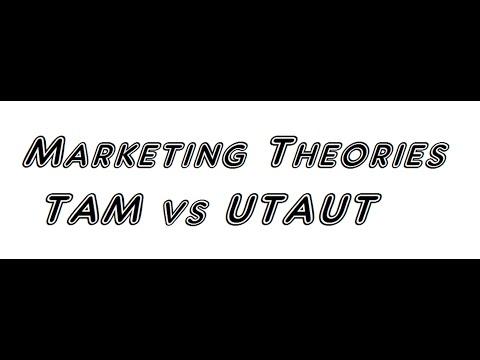 Marketing Theories -TAM and UTAUT by Prof Brijesh