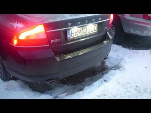 Volvo S80II 2.4 D5 Cold start 24