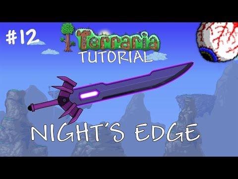 download Terraria 1.3 Tutorial – How to make the Night's Edge – Best Pre hardmode sword - Tutorial 12