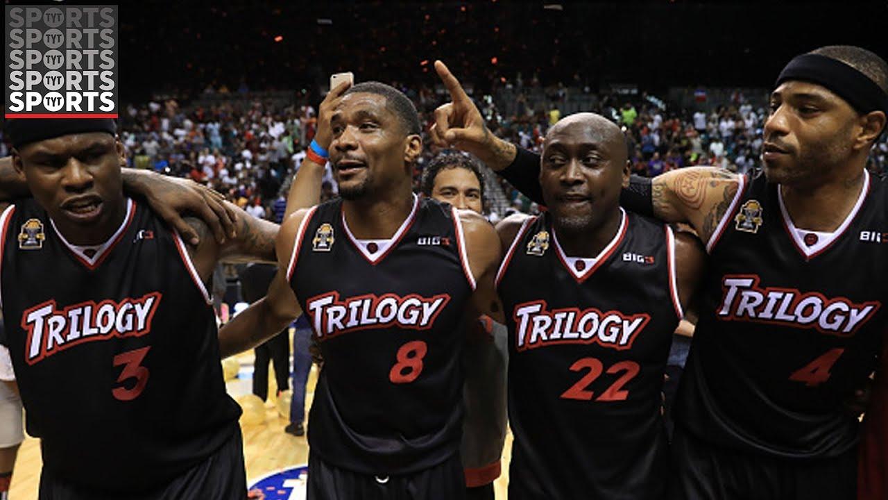 Al Harrington on Trilogy Winning The Big 3 Final [And Recruiting