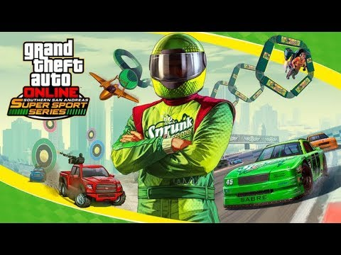 DIRECTO NUEVO DLC Super Sports Series del Sur de SA GTA V On