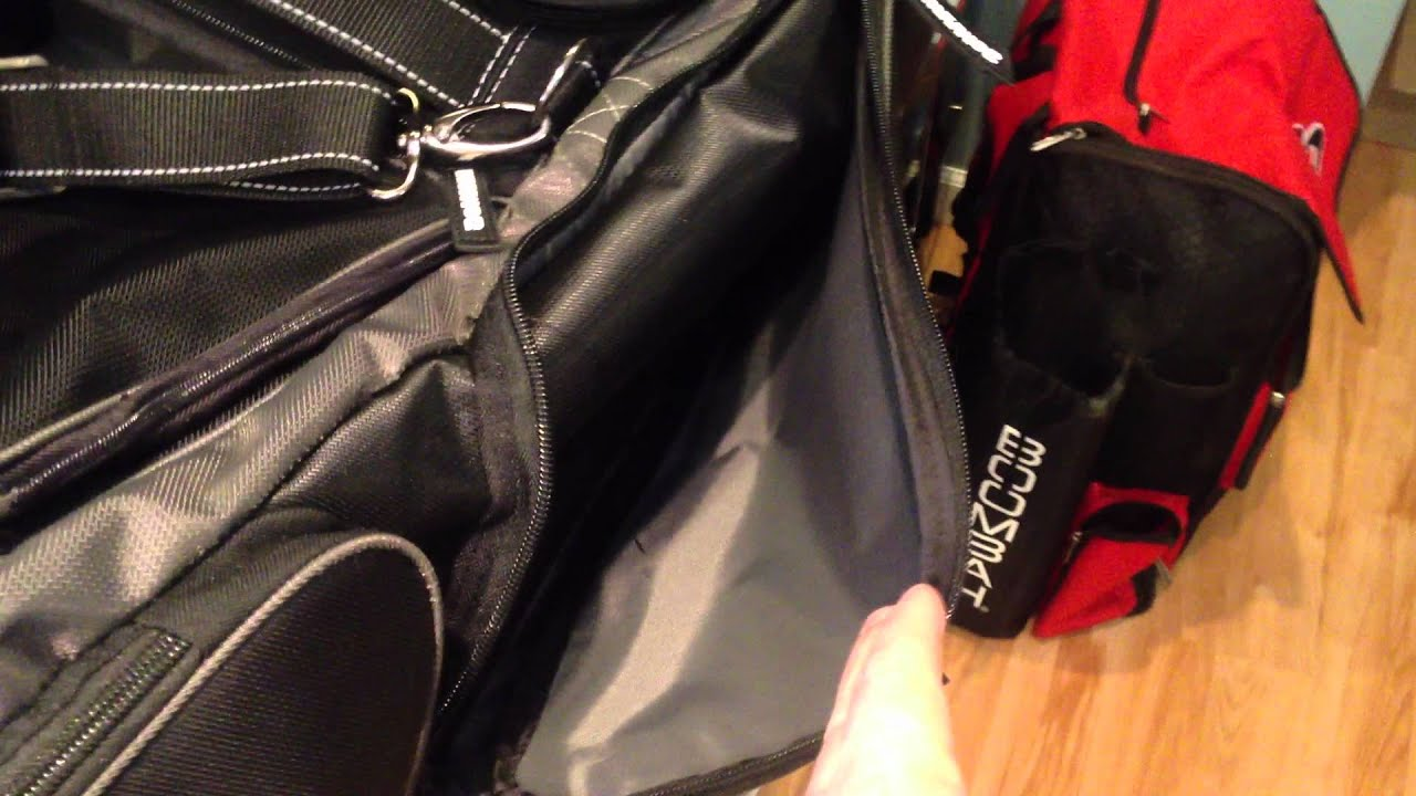 Demarini Black Ops Roller Bag Overview