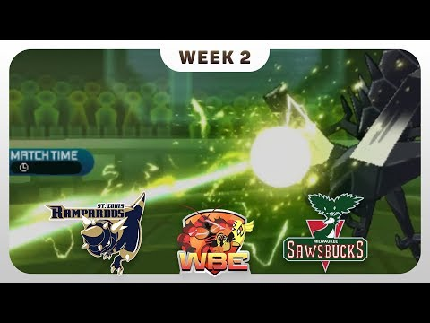 GOOD OLD NO NAME!! | St. Louis Rampardos VS Milwaukee Sawsbucks WBE W2  | Pokemon Sun Moon