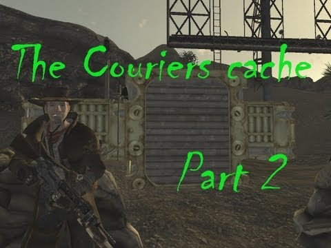Fallout New Vegas Mods: The Couriers Cache - Quests Weapons and Armors! - Part 2