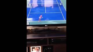 Hot tennis player having sex