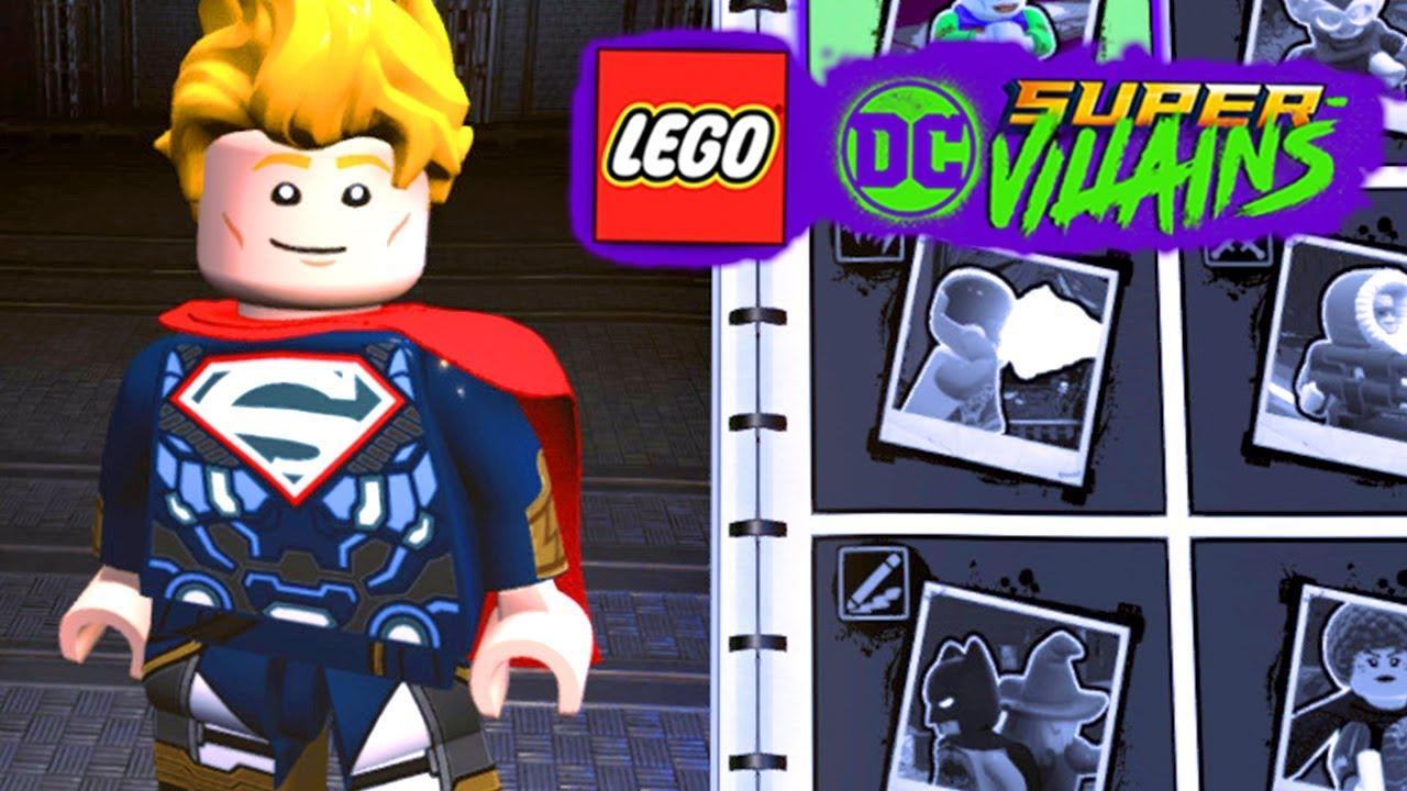 LEGO DC Super villains #133 SUPERMAN SUPER SAYAJIN NO CRIADOR DE PERSONAGENS // Raposa Verde