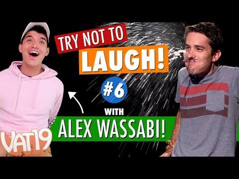 Vat19 Make Me Laugh Challenge #6 | with Alex Wassabi