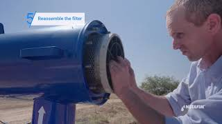 ScreenGuard™ Filter – How to prepare your filter for the irrigation season | Netafim
