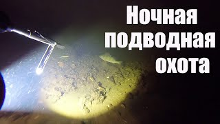 Ночная охота под водой