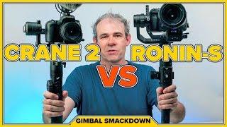 DJI RONIN-S vs Zhiyun CRANE 2 Camera Gimbals REVIEW