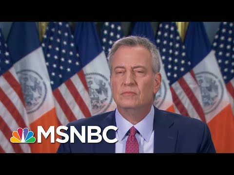 De Blasio: NYC Will Reopen With Evidence Of Profound Change | Morning Joe | MSNBC