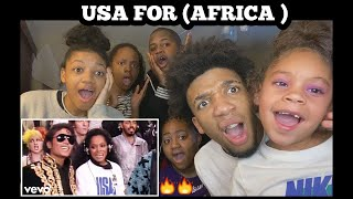 NO WAY!! | U.S.A. For Africa - We Are the World (Official Video) REACTION