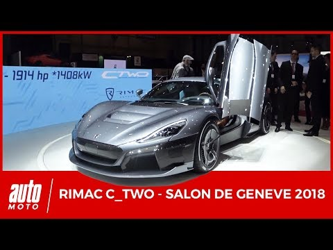 RIMAC C_TWO - 1914 ch Hypercar Electric - Salon de Genève 2018