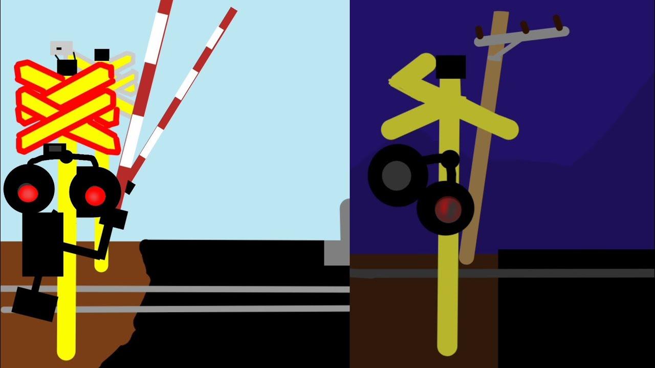 Download Animasi perlintasan kereta api Part 8