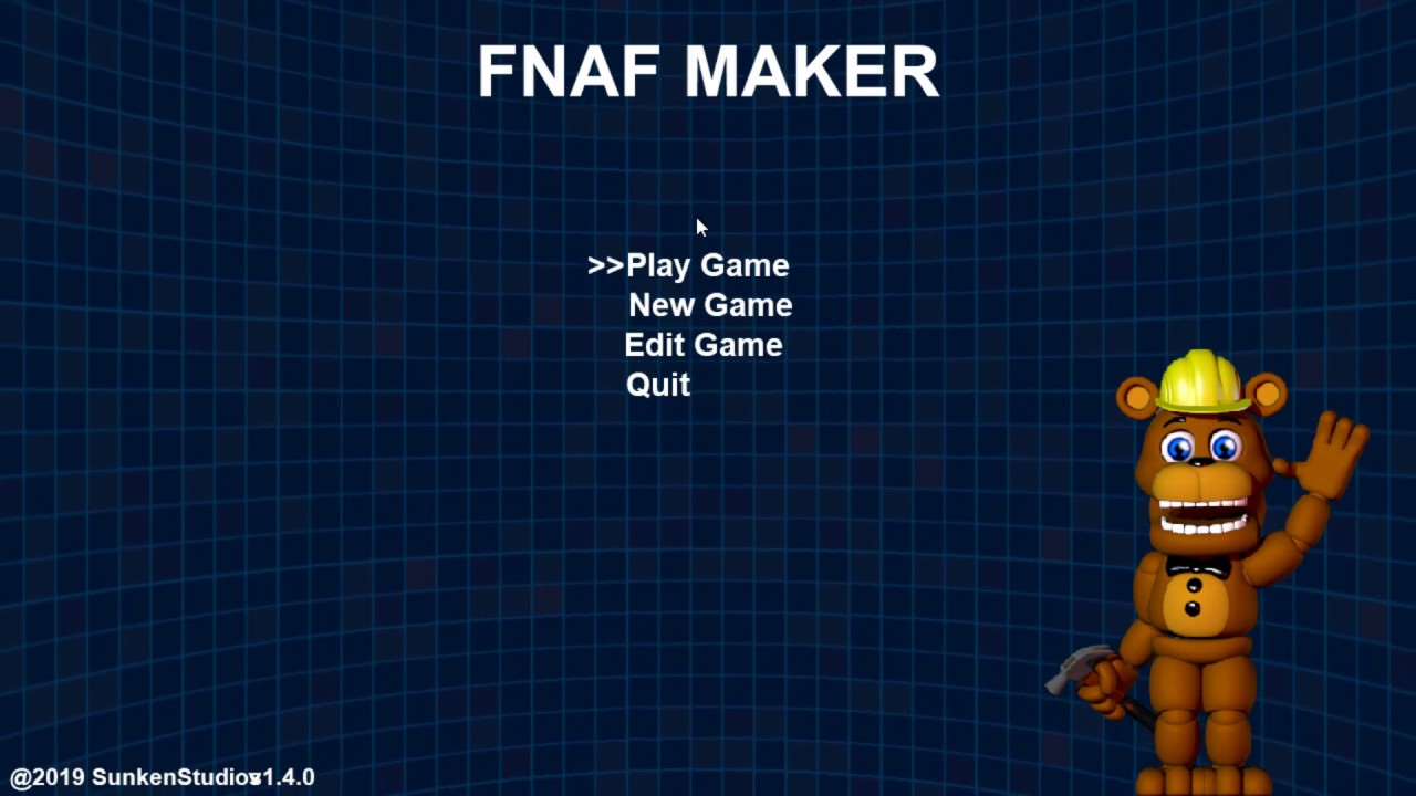 FNAF Maker | Creating My Own Dope Fan Game