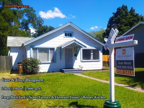 Homes For Sale in Spokane WA Area - Cute & Cozy Bungalow 4023