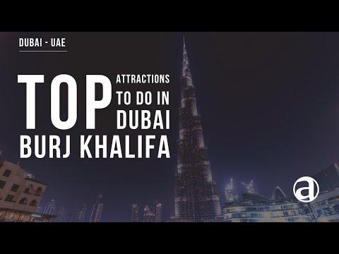 Burj Khalifa | Top Attractions | Dubai Tours | UAE | Luxury travel Concierge antropoti