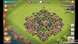 Clash of clans j'améliore mes remparts