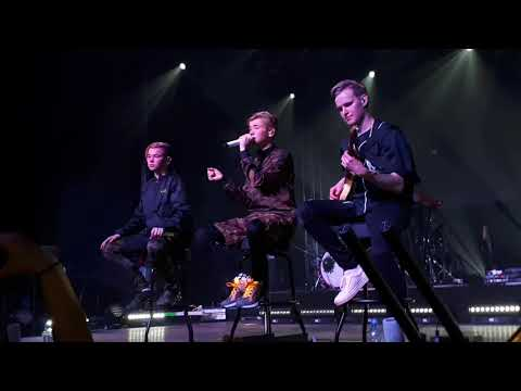 Marcus and Martinus - Heartbeat (Live perfomance, 20.03.2018, Poland, Warsaw)