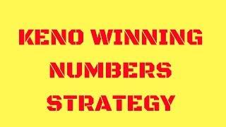 Keno Winning Numbers Strategy - Best Keno Jackpot Strategy - Use Th...