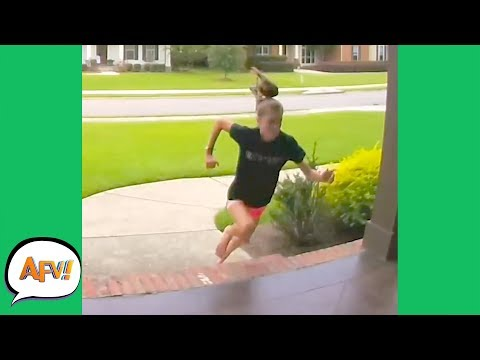 Caught the Girls SCREAMING! 😂 | Funny Security Videos | AFV 2019