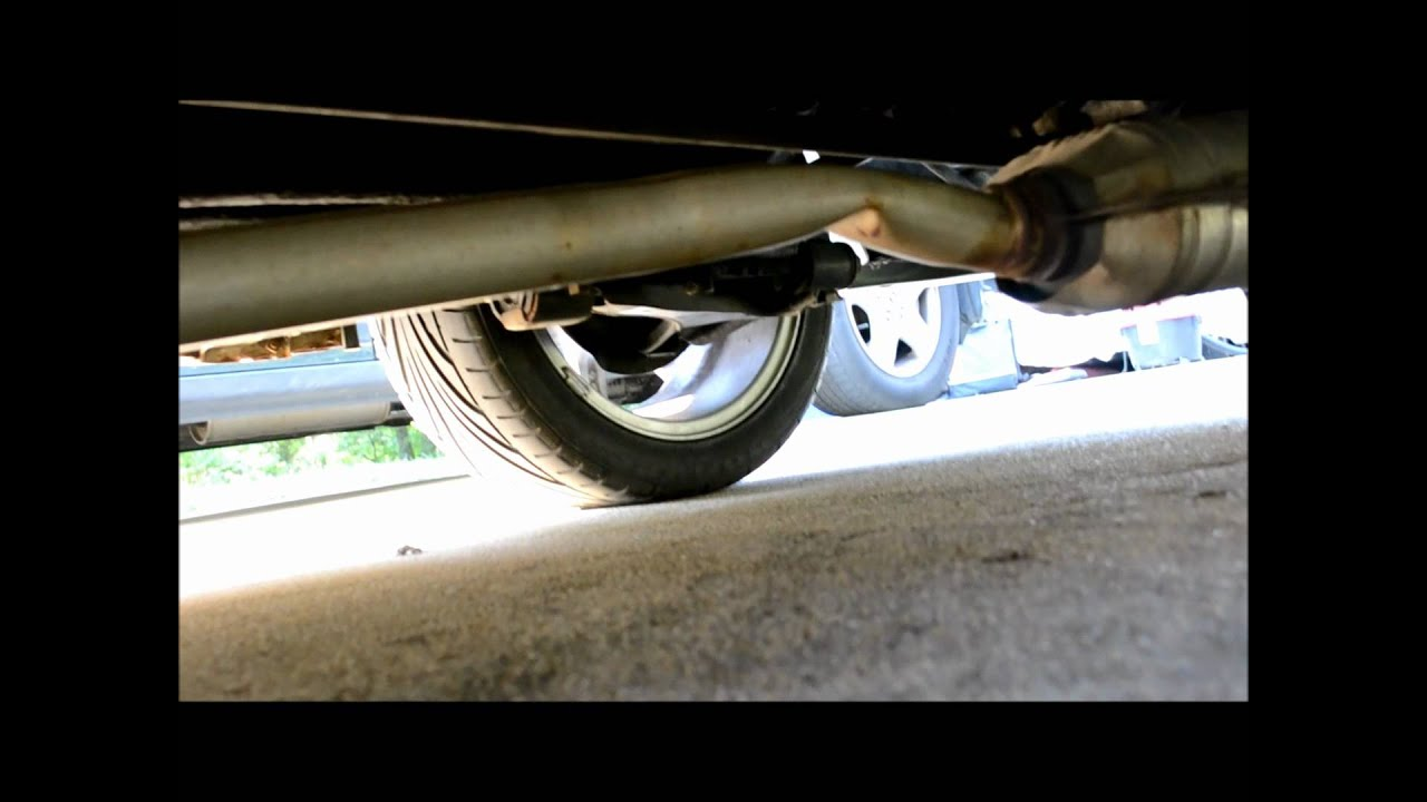 repair and replace 1992 geo metro exhaust [ 1280 x 720 Pixel ]