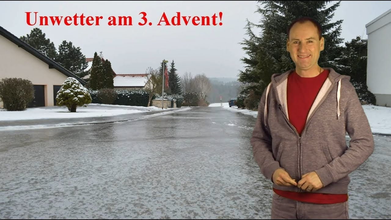 unwetter am 3 advent der sonntag bringt glatteis und