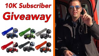 10K Subscriber Give Away. The newest Jeep JL accessory on Amazon.