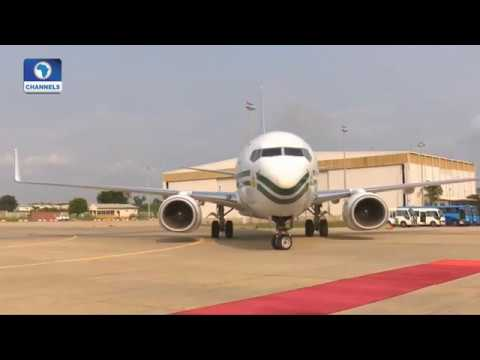 Sights & Sounds Of President's Return To Nigeria