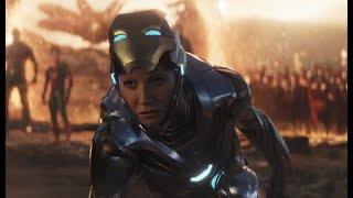 Pepper Potts (Rescue Suit) - All Fight Scenes | Iron Man