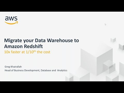 A Better Way to Upgrade Your Warehouse, Migrate to Amazon Redshift