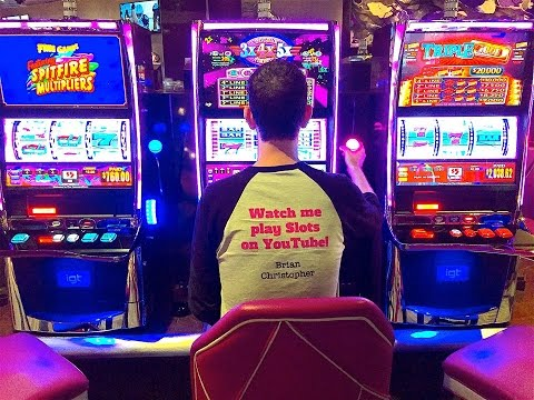 *LIVE STREAM EVENT* Slot Machine Play in CALIFORNIA!  12/25/16 at 5pm Pacific, 8pm Eastern