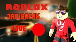 (HUGE ROBUX GIVEAWAYS!!!) *NEW UPDATE* Roblox Jailbreak LIVE w/Viewers!
