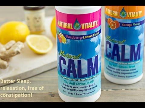 Natural calm magnesium is amazing
