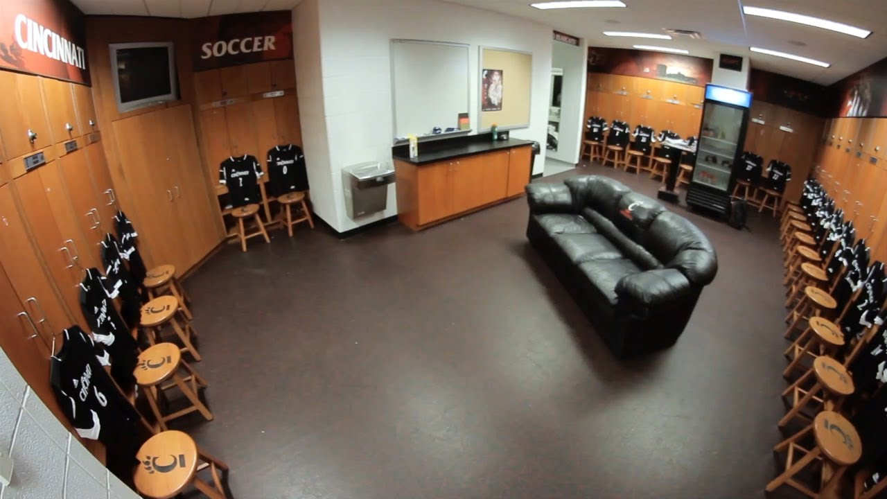 The University Of Cincinnati Athletic Facility Video Womens Soccer Locker Room