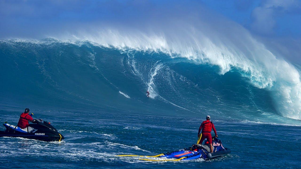 BIG WAVE SURFING COMPILATION 2021