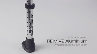 Video: Unifiber RDM V2 Aluminium Mast Extension (U-Pin)