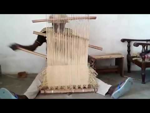 Kuba cloth from Congo - watch it being made. Learn the history