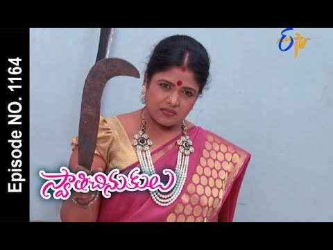 Swathi Chinukulu   27th May 2017   Full Episode No 1164   ETV Telugu