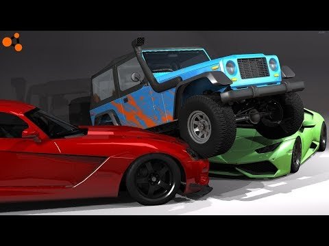 3 Scrapped Cinematic Edits -- BeamNG