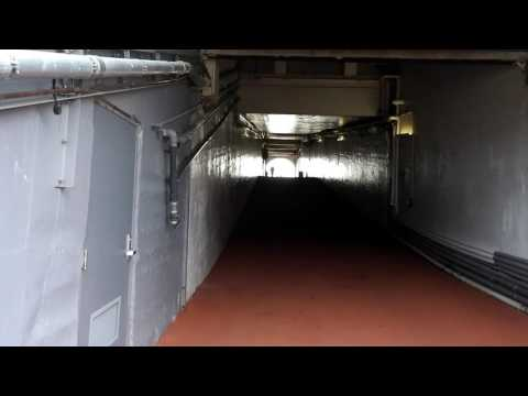 Walking up the Michigan Stadium tunnel with Pep Hamilton and Jim Harbaugh