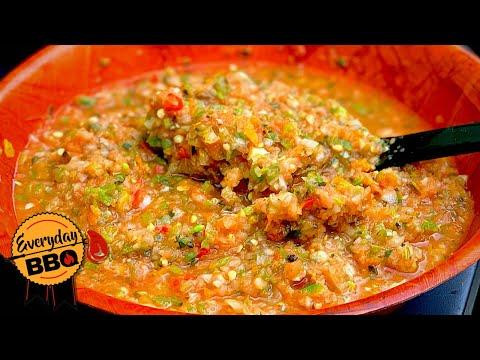 Smoked Salsa | How to make Smoked Salsa | Camp Chef Pellet Smoker | Everyday BBQ