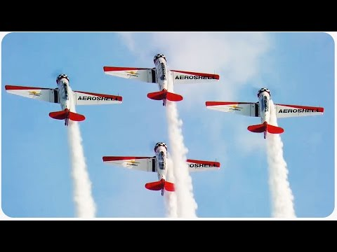 Incredible Air Show Stunts | Aerial Dare Devils