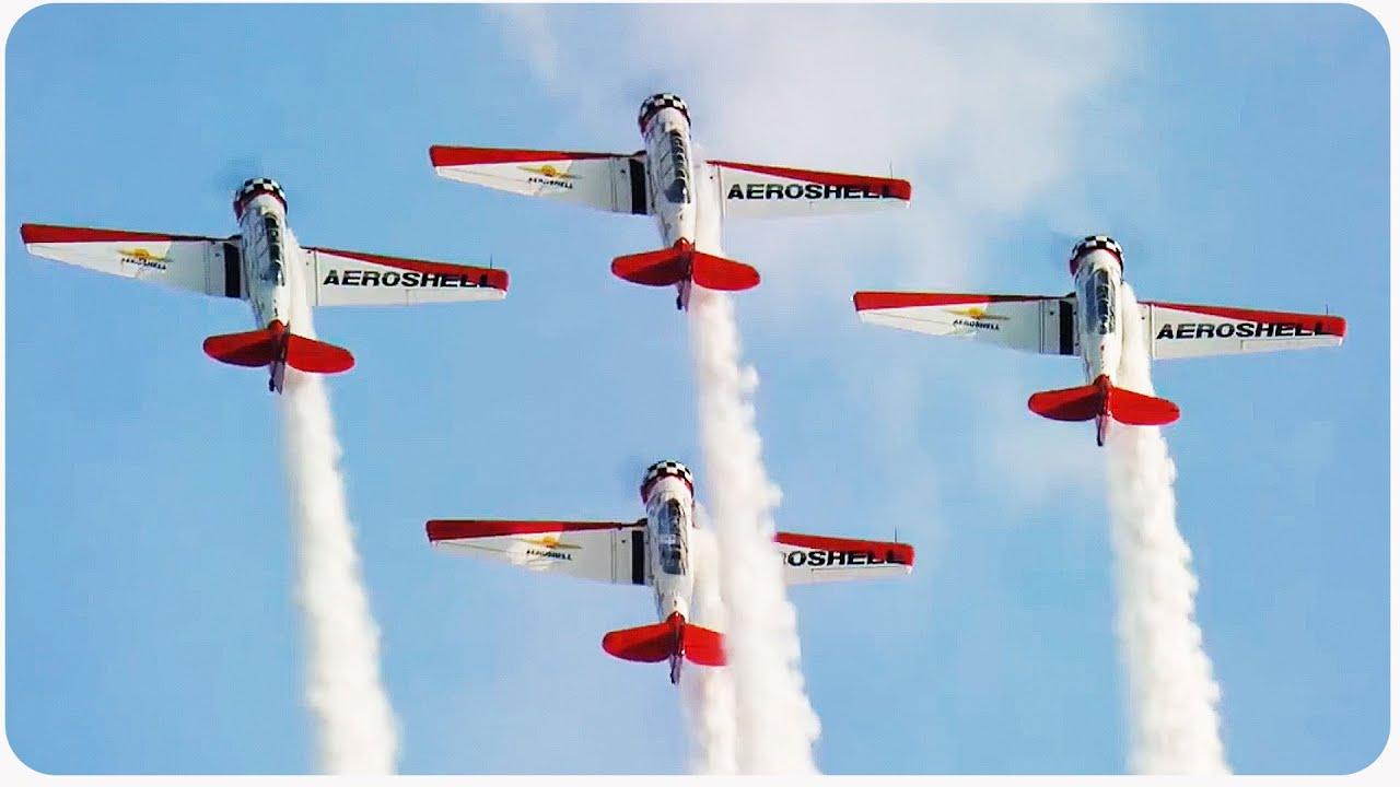 Incredible Air Show Stunts   Aerial Dare Devils
