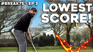 My BEST ROUND OF GOLF....so far! #Break75 EP3