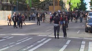 Peaceful protests continue Monday in Seattle