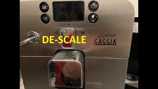 Gaggia Brera Descale, Step by …