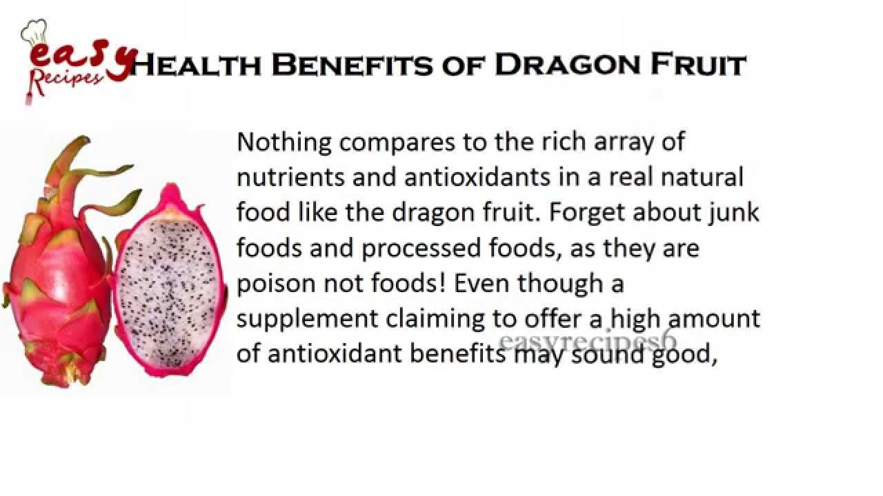 health benefits of dragon fruit - top 10 benefits - easy recipes